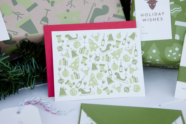 Shed Labs Christmas Goods #grafica #pattern #invito