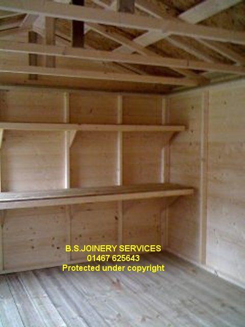 shelving for shed | shed - sheds - wooden sheds - garden sheds