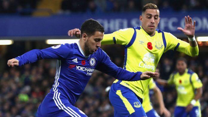 Everton vs Chelsea en vivo 23/12/2017 - Ver partido Everton vs Chelsea en vivo online 23 de diciembre del 2017 por Premier League Inglaterra. Resultados horarios canales y goles.