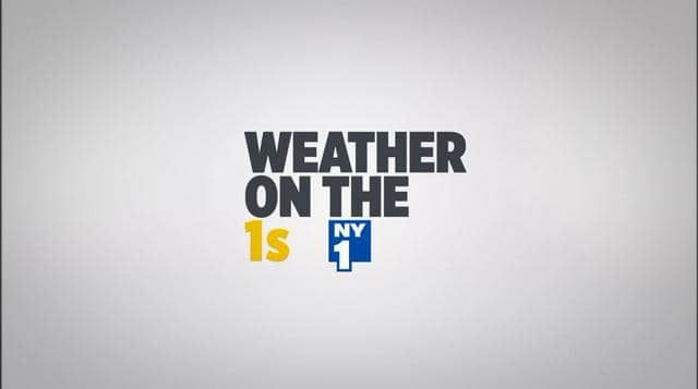 NY1: Weather on the 1s
