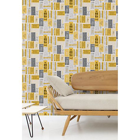 Buy Mini Moderns Hold Tight Wallpaper Online at johnlewis.com