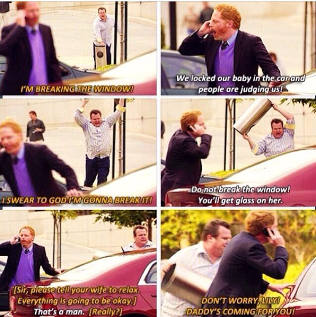One of my Favorite moments from Modern Family.
