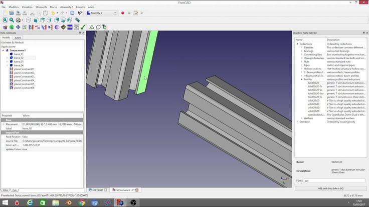 Tutorial Freecad 0.17- ASSEMBLY Workbench