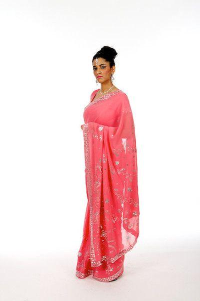 First Romance -Peach Saree | Saris and Things