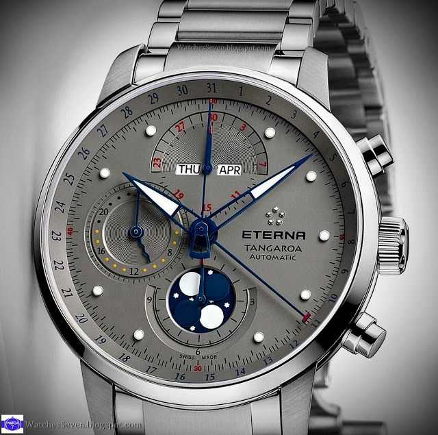Watches 7: Eterna - Tangaroa Moonphase Chronograph