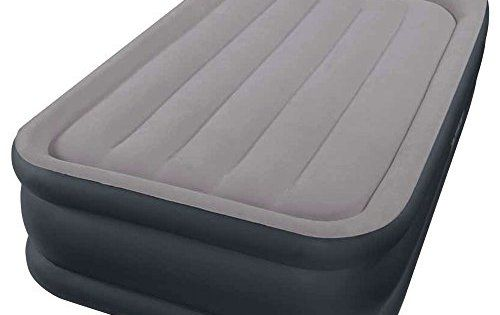 Intex 67732 Lit Gonflable 1 Place Large Rest Bed Gonfleur Intègre 230 volts: Dimensions: 99x191x43 cm Nécessite des piles: Non Descriptif…