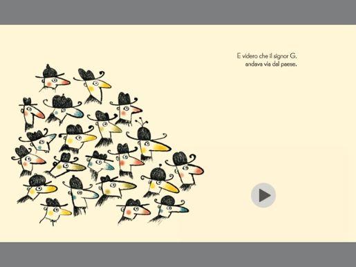 Da un albo cartaceo di LaNuovafrontiera ad un libro digitale interattivo con testo italiano e versione della storia nella lingua italiana dei segni (LIS). Musica, racconto e tecnologia per gioire di una bellissima storia tutti insieme, udenti e non udenti.