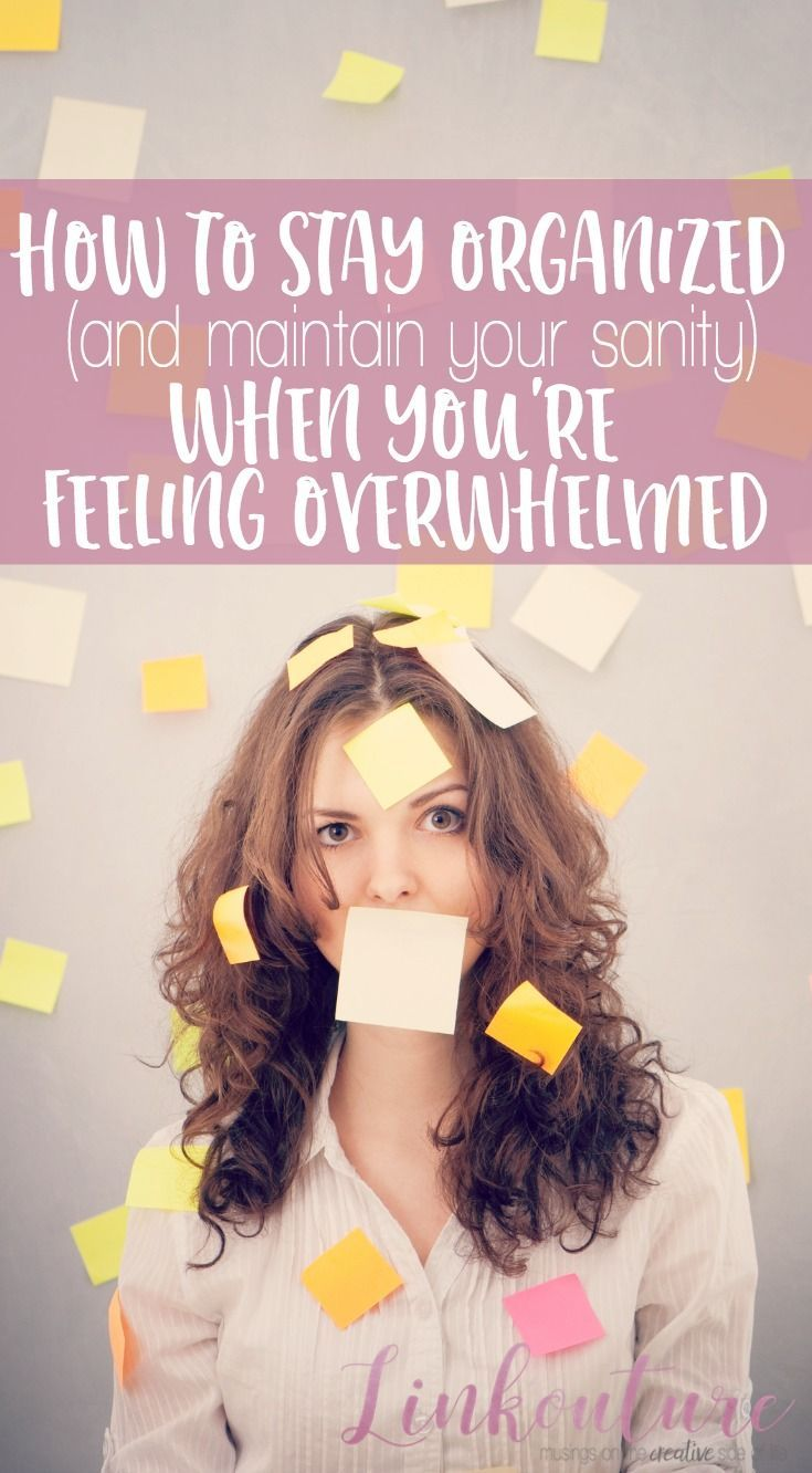 Feeling overwhelmed by everything you have on your plate? Learn how to stay organized at home and in life with these simple little tricks. Number 5 might surprise you!