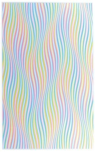 Bridget Riley (b1931) a leading British op artist, began investigating colour in 1967, the year in which she produced her first stripe painting.