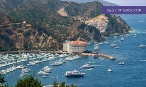 Casual hotel built on Catalina Island in 1896 welcomes guests with included botanical gardens admission and reception with drinks