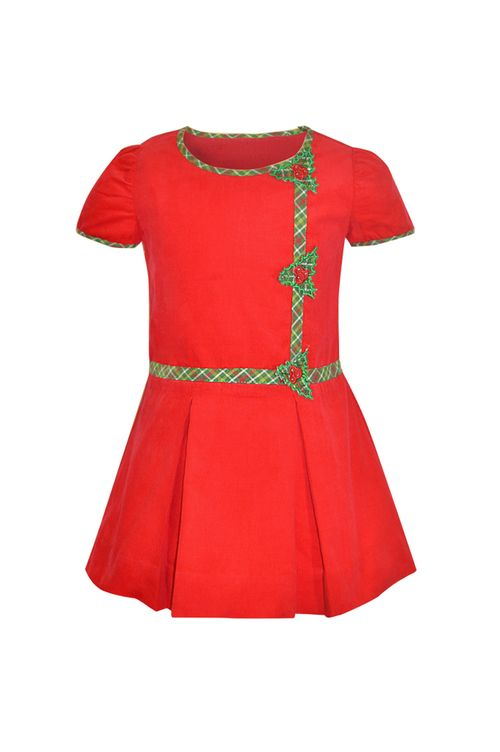 Hollies for Fall! #GirlsDresses #LittleGirlDress