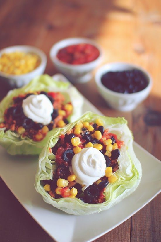 Healthy Turkey Lettuce Wrap Taco's - All of the Mexican Flavors & Packed Full of Nutrition