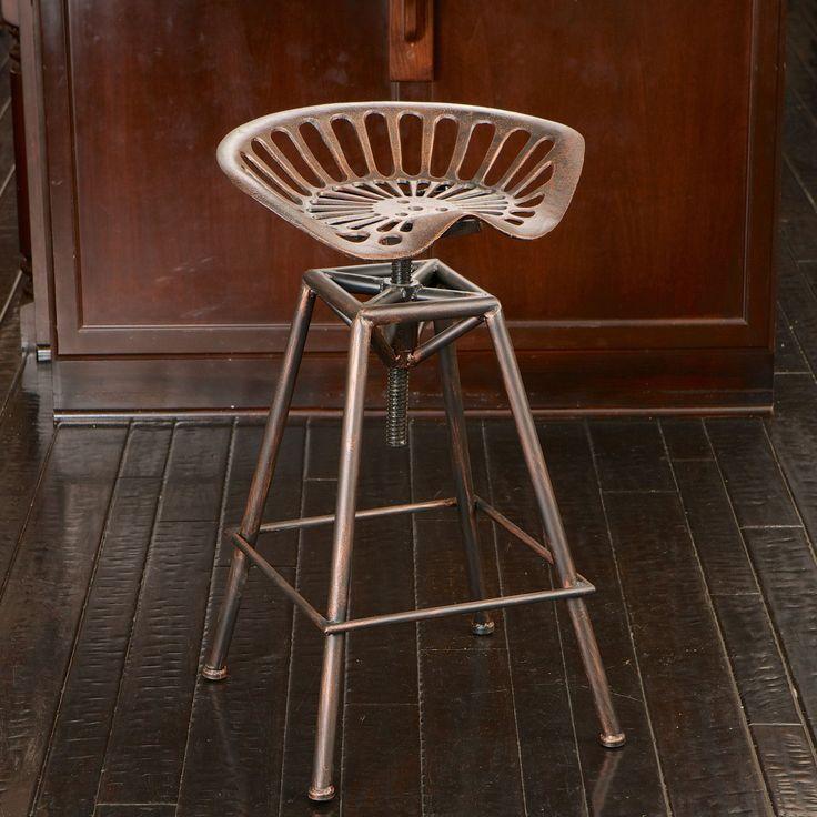 Riverside Saddle Copper Bar Stool 637162114728