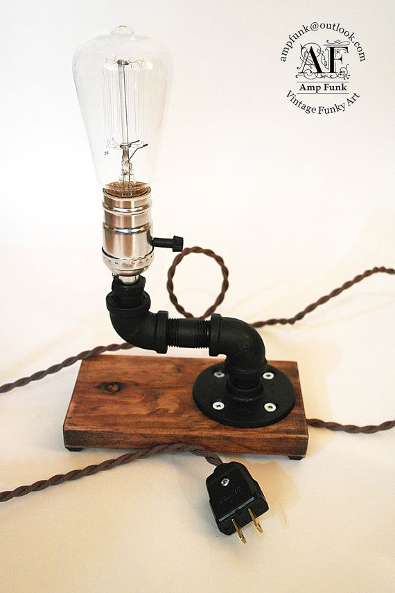 11 best gas lamp collection industrial pipe wall sconces for Gas pipe desk lamp