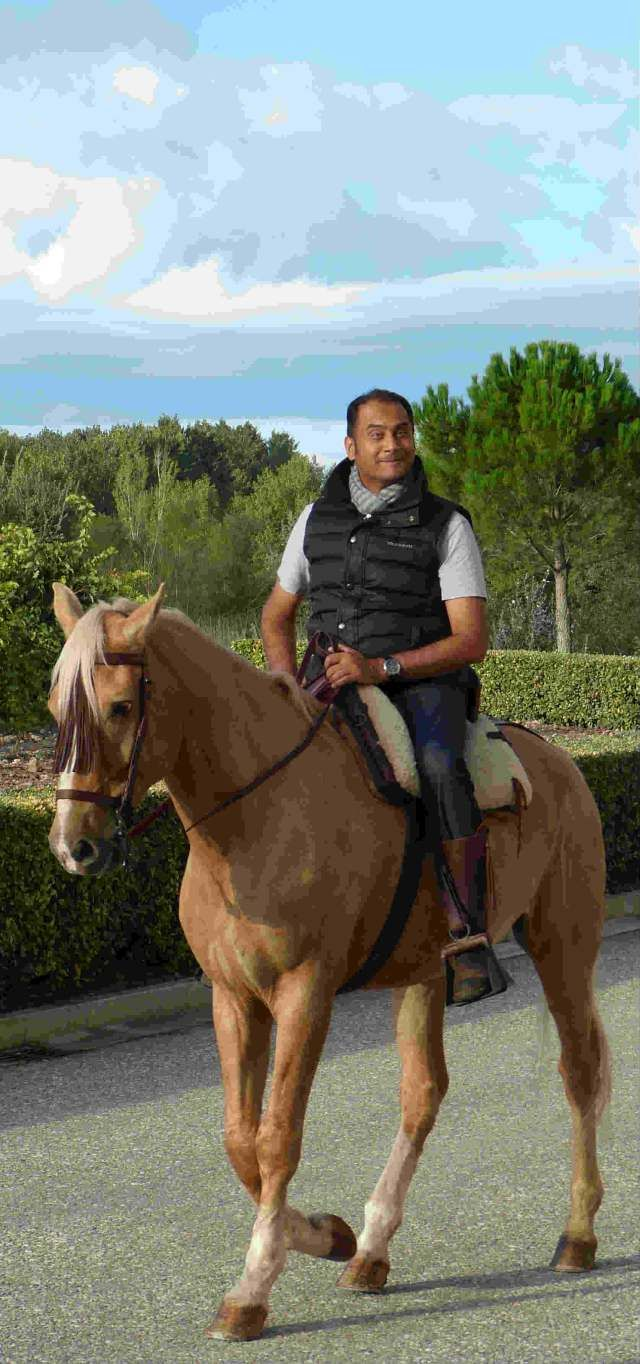 Varun Sharma @Varun Sharma at Abadia Retuerta LeDomaine, Spain