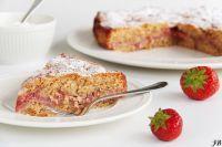 receptenvandaag Aardbeien en kaneeltaart