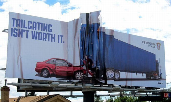 Lovely stuff. Had to laugh at this one. Wonder if anyone tailgated another car looking at the ad?