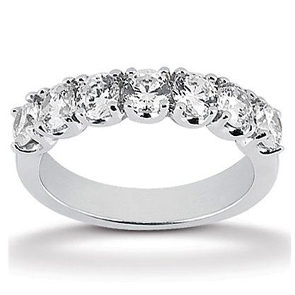 Jewelry Point - 1.05ct 7-Stone Diamond Anniversary Ring Wedding Band, $1,850.00 (https://www.jewelrypoint.com/1-05ct-7-stone-diamond-anniversary-ring-wedding-band/)