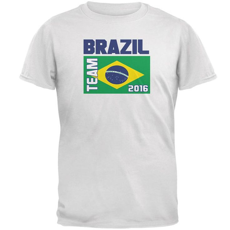 Summer Olympics Team Brazil Mens T Shirt