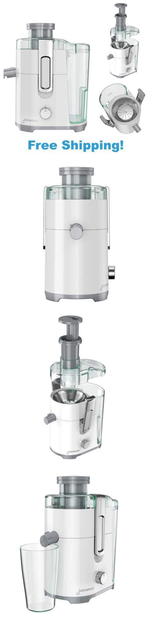 appliances: Electric Juice Extractor Machine Fruit Vegetable Juicer Fresh Maker Big Mouth BUY IT NOW ONLY: $53.35
