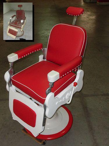 Sillon barbero THEO KOCH barber chair by Elio Reyes Retro-Vintage, via Flickr