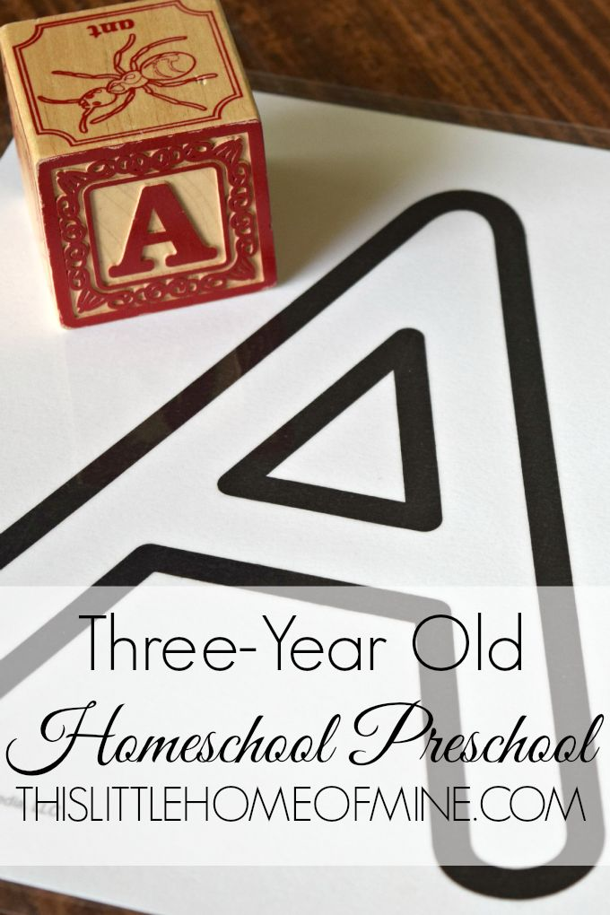 Interested in exploring Three-Year Old Homeschool Preschool at home with your child? Check out what we do!