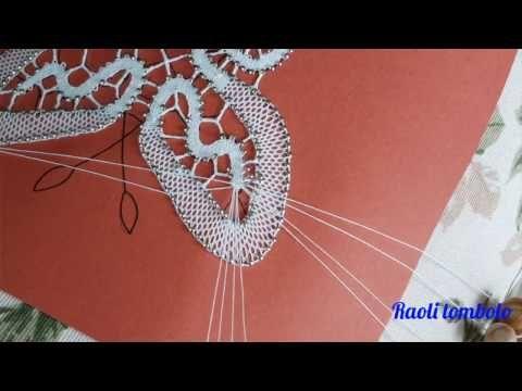 Merletto a tombolo - Progetto Farfalla #7: chiusura a punta - YouTube