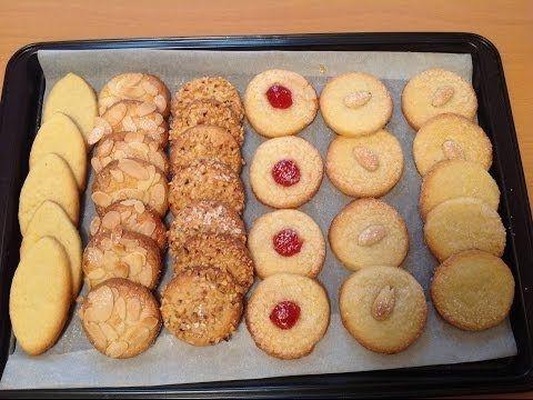 Come fare i Biscotti di Frolla Montata - Pasticceria da tè - Ricette Dolci e Cucina - Tutorial - YouTube