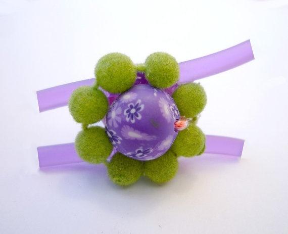 Ring Neon purple fantasy by wandadesign on Etsy, €15.00