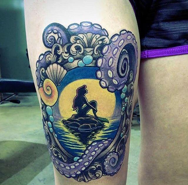 Ariel frame tattoo