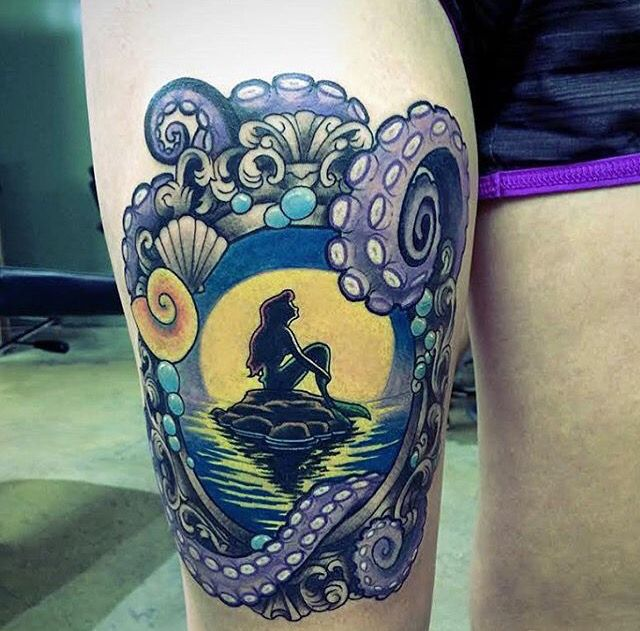 Ariel frame tattoo