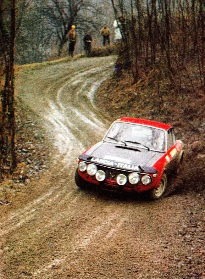 Lancia Fulvia 1.6HF.