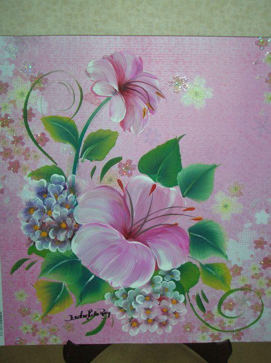 pinceladas decorativas - manosalaobratv | pinceladas y ...