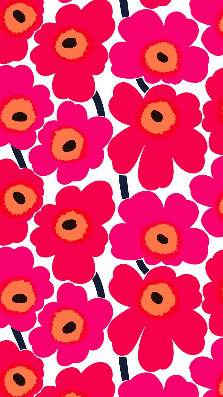iphone pinterest marimekko and art flowers. Black Bedroom Furniture Sets. Home Design Ideas