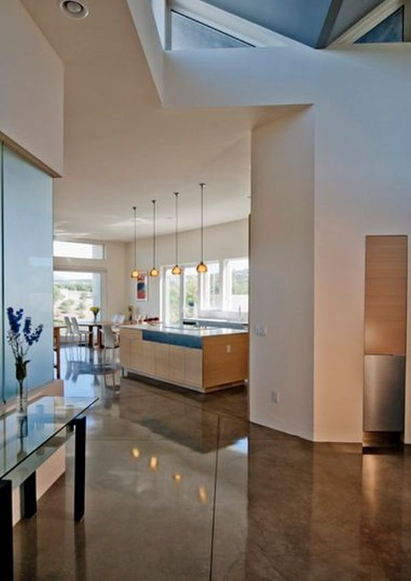 33 best images about polished concrete flooring on for Concrete floors in house