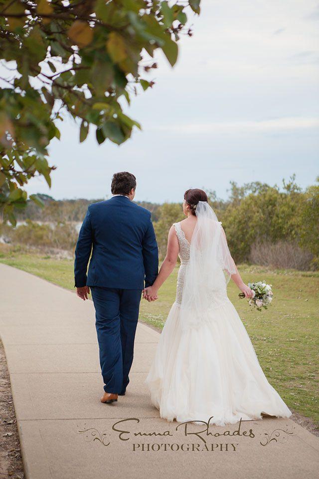 Anchors wharf Urunga played host to this beautiful wedding of Layna and Trent…