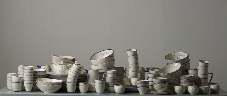 The Merchants Cafe Ceramics. By Chandler House - for Merchants Cafe
