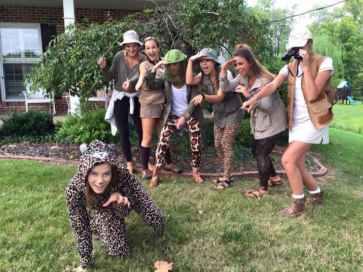 Safari costumes