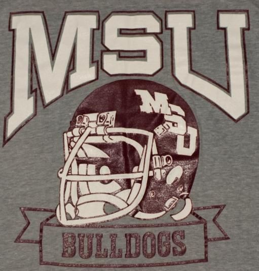 Vintage Mississippi State Bulldogs Football Shirt. Excellent condition.