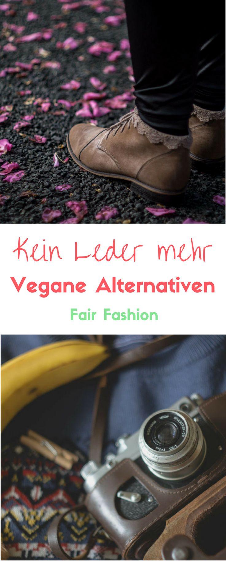 Vegane Alternativen zu Leder