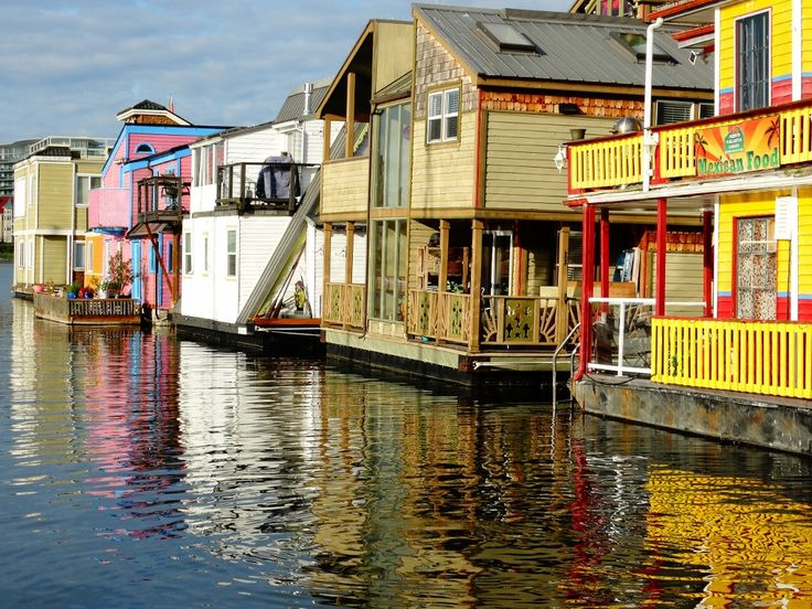 Victoria float homes  May2016