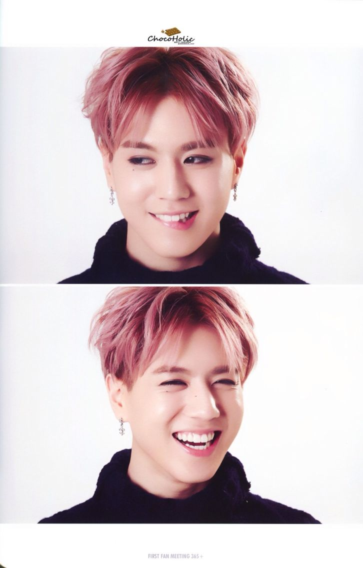 GOT7 Yugyeom 》Must keep reminding myself he is a maknae and not yet legal, over and over bahaha. But, damn it all if he isn't just the cutest thing ♥