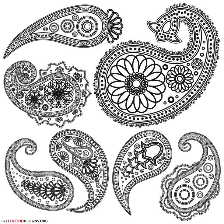 Free Printable Stencil Patterns | Here are some typical henna designs and patterns. Some are simple, but ...