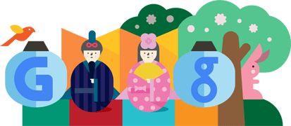 Google Doodle: Hinamatsuri Japan 2012