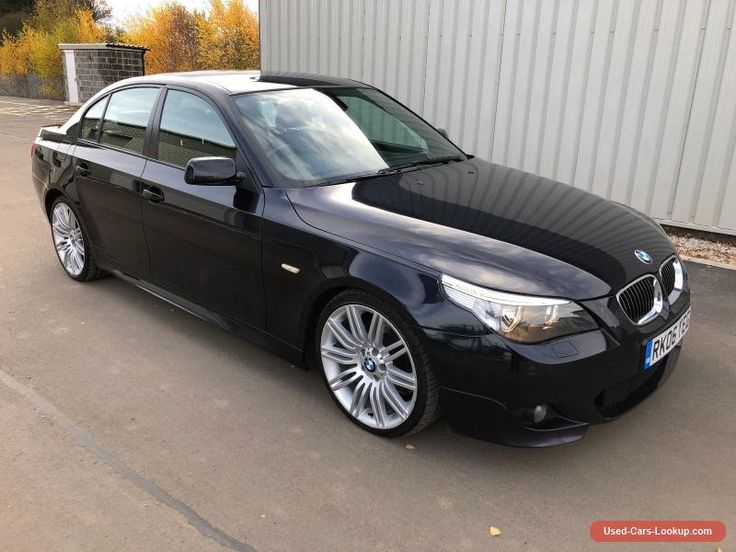 "2006 BMW 525D M SPORT TURBO DIESEL 530 CARBON BLACK METALLIC 19"" ALLOYS #bmw #525 #forsale #unitedkingdom"