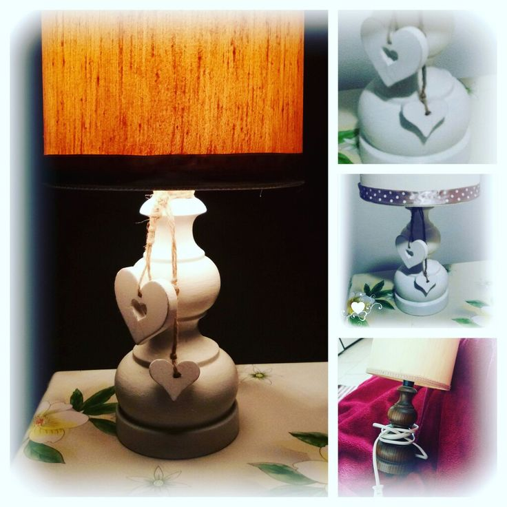 Old lamp: shabby Restyling