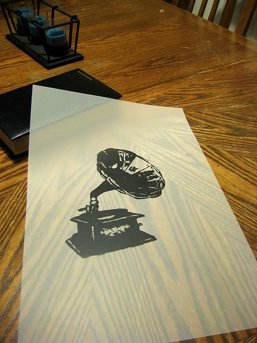 I have printed on transparent paper before (through printers). It works.