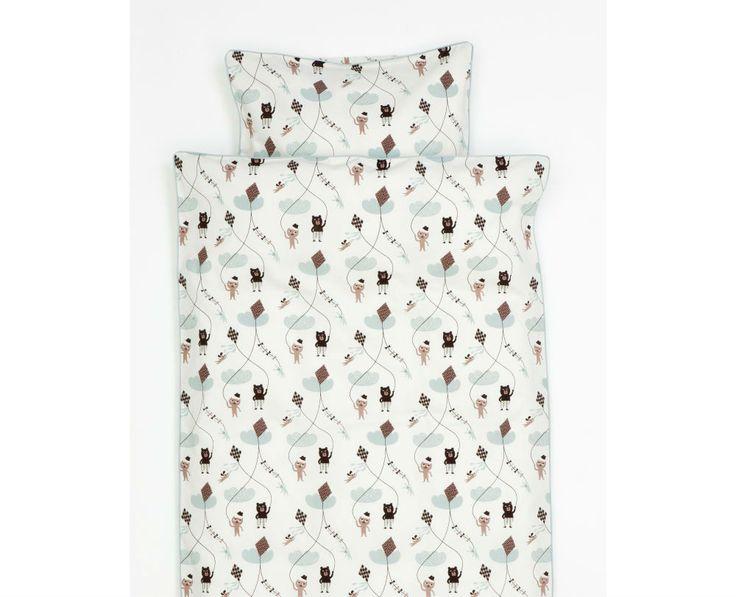 ferm living bedding uk. buy ferm living - kite bedding 140 x 200 cm rose coolshop uk m