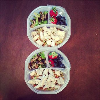 slender lunch ideas