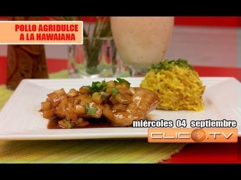 Pollo Asado estilo Hawaiano, receta facil, - YouTube